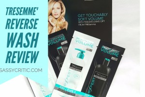 Tresemme Reverse wash review cover - sassycritic.com