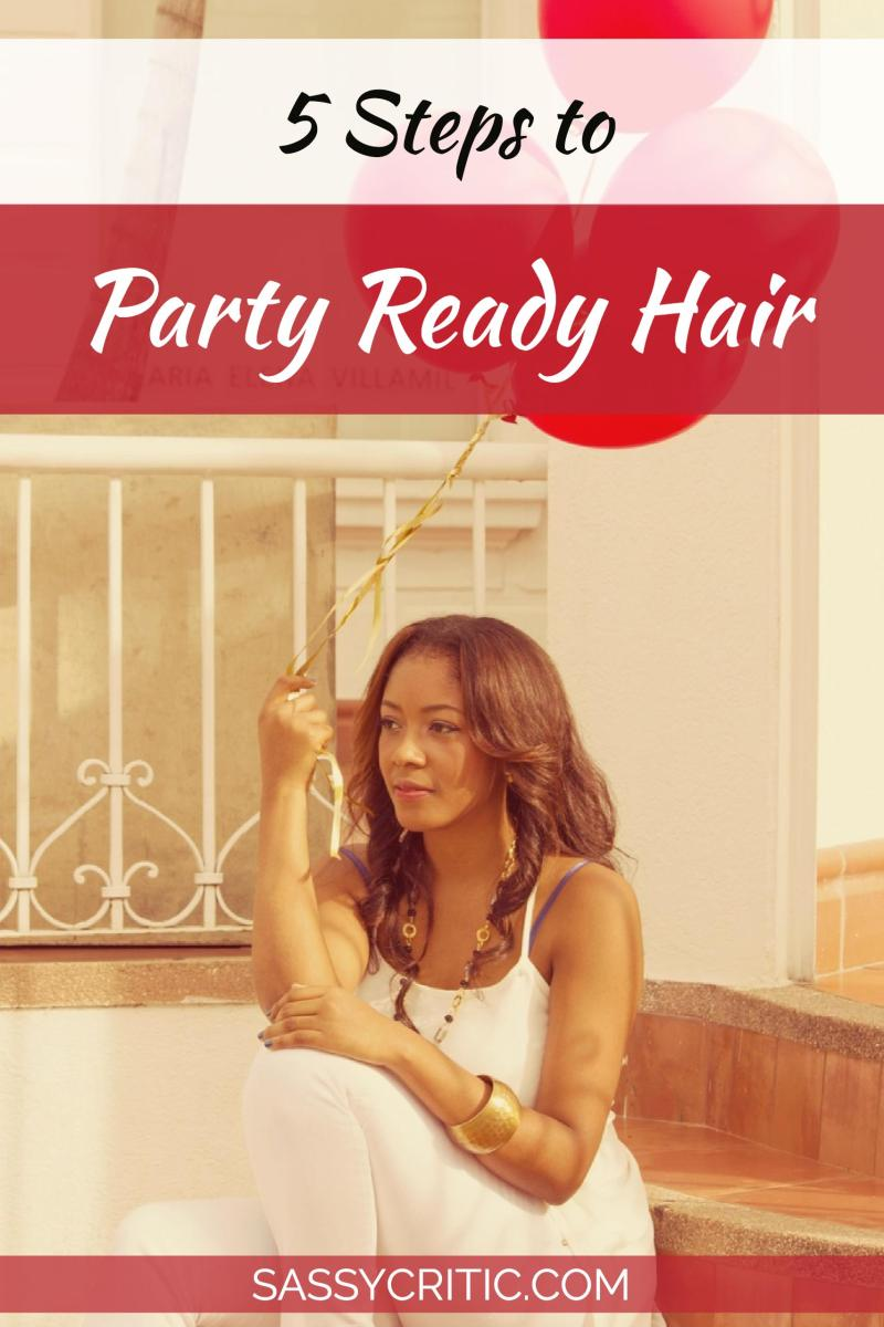 Party-Ready Hair in 5 Steps: Straight & Wavy - SassyCritic.com