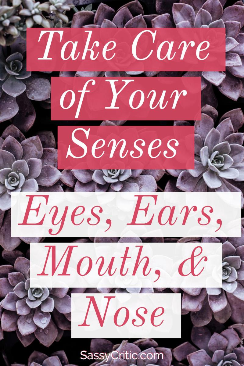 Taking Care of Your Senses: Eyes, Ears, Mouth, & Nose - SassyCritic.com