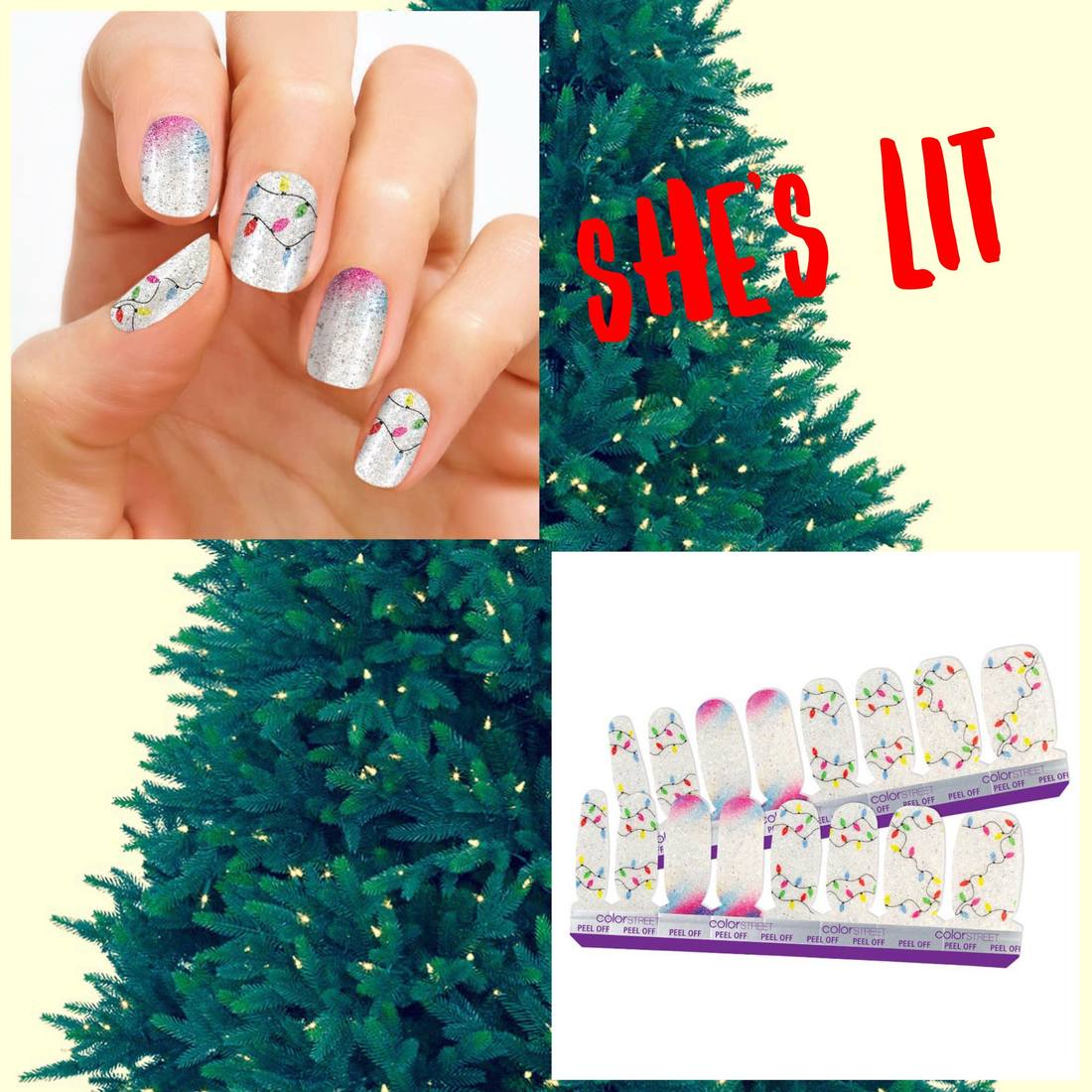 Color Streets 2018 Holiday Nail Strips Are Here Direct
