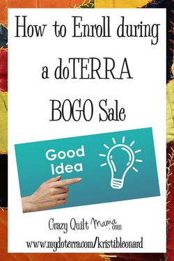 How to Enroll During a doTERRA BOGO Sale
