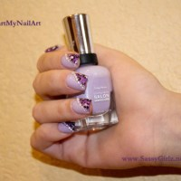 Vegas Glam Nail Art Designs - Guest Post on Sally Hansen!