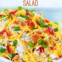 Loaded Baked Potato Salad Recipe Made Easy - And, BACON!