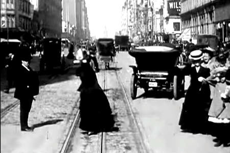 A Trip Down Market Street in 1906 San Francisco