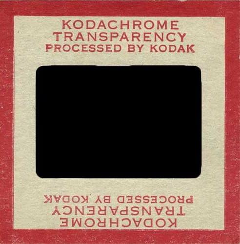 Your Kodachrome Slides: Treasure Chest Thursday