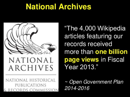 National Archives Wikipedian in Residence