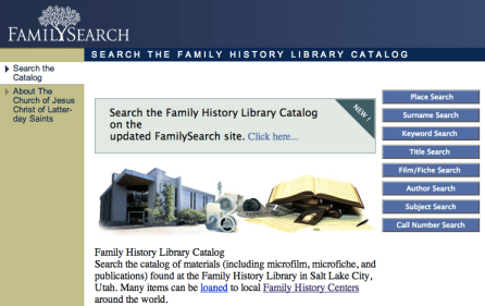 FamilySearch Place Name Searches – Tuesday's Tip | Sassy