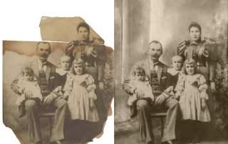 Restoring Digital Family Photos sassy jane genealogy