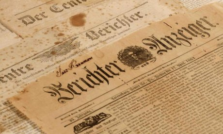Saving Historic Newspapers