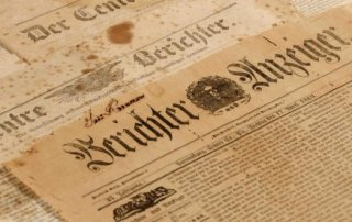 Saving Historic Newspapers