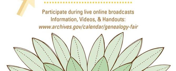 National Archives Genealogy Fair 2016