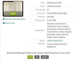 Ancestry Shaking Leaf vs. Genealogy Brick Wall