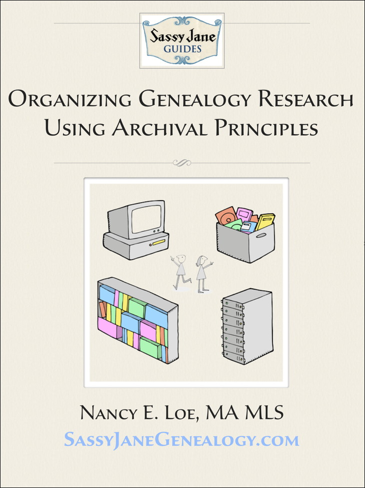 Organizing Genealogy Research