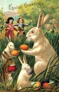 Is the American Easter Bunny German?