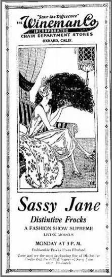 Who Was Sassy Jane?