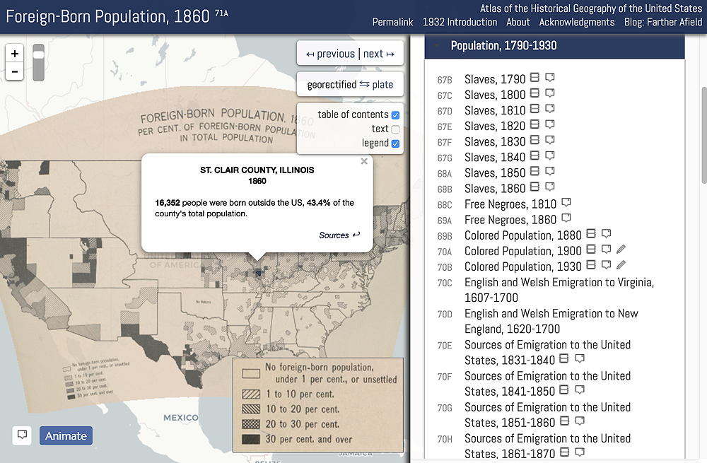 Free Historical Atlas for Genealogy Research