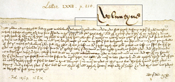 The First Valentine and Some English Genealogy