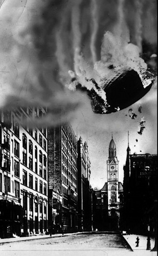 1919 Chicago Dirigible Crash