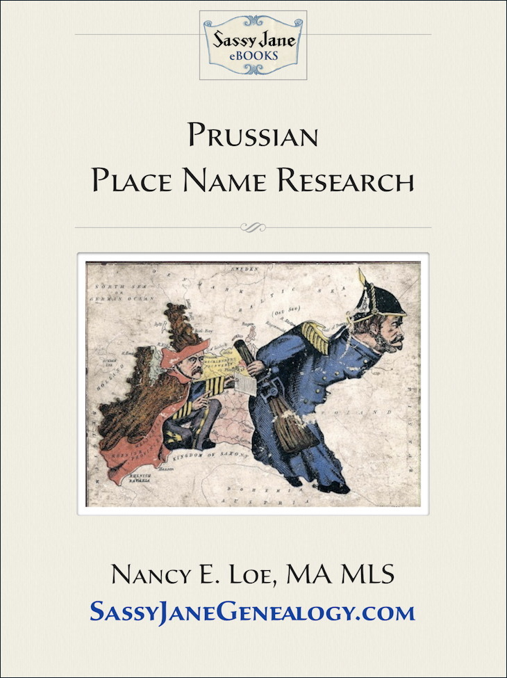 Prussian Place Name Research cover