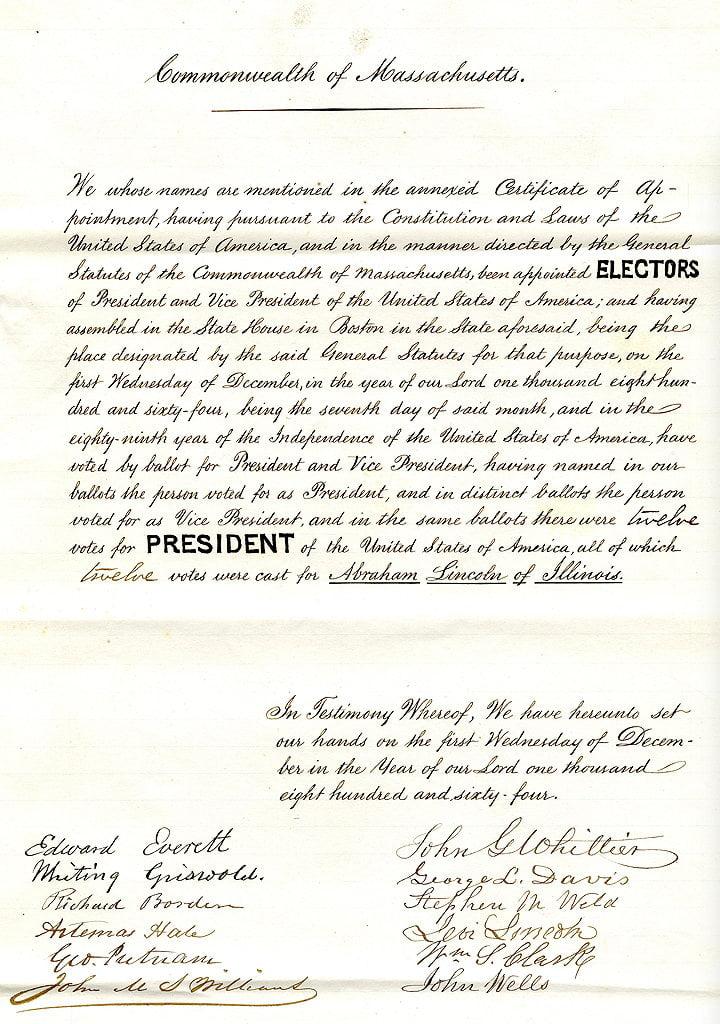 electoral college history