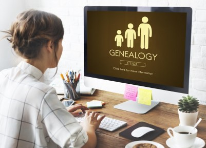 starting your family tree family history research image