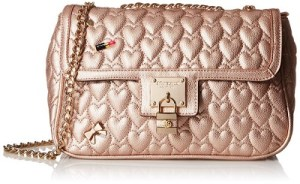 Rose Gold handbags - Betsey Johnson Be My Baby Shoulder Bag