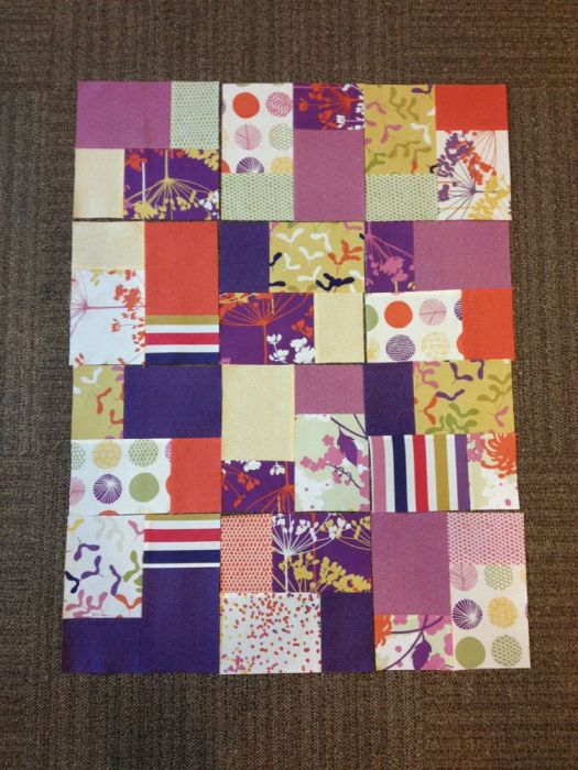 Free Quilt Patterns - Double Slice - The Sassy Quilter