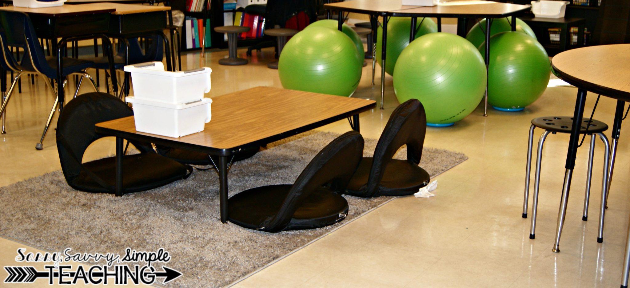 Flexible Seating Classroom Sassy Savvy Simple Teaching