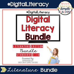 Digital Literacy Literature Bundle