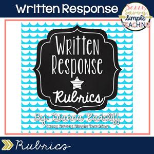 Written Response Rubrics