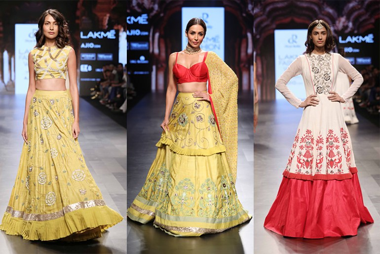 Lakme Fashion Week 2017 Day 5 Divya Reddy Shahibzadi Collection