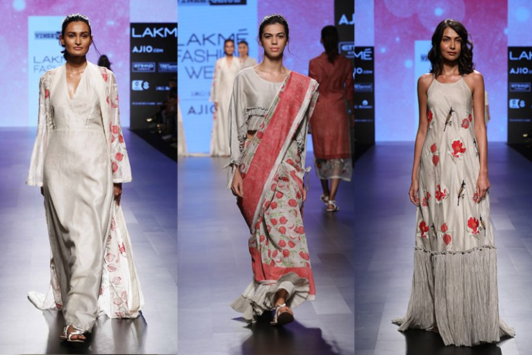 Lakme Fashion Week 2017 Day 5 Vineet-Rahul, Gulnar Collection