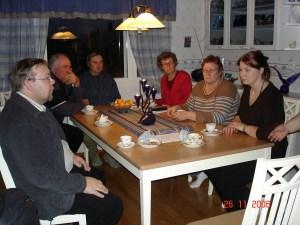 Kotiseutuyhdistyksen perustaminen 26.11.2006
