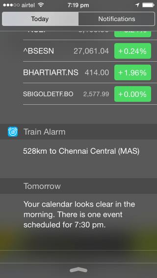 Train Alarm