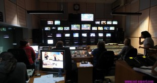 Greek government announced state's tv closure as of Tuesday night