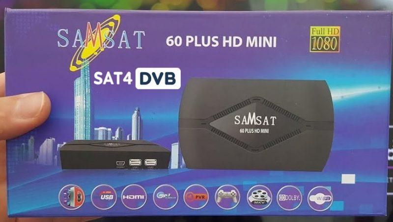 SAMSAT HD 60 MINI PLUS TÉLÉCHARGER GRATUITEMENT FLASH