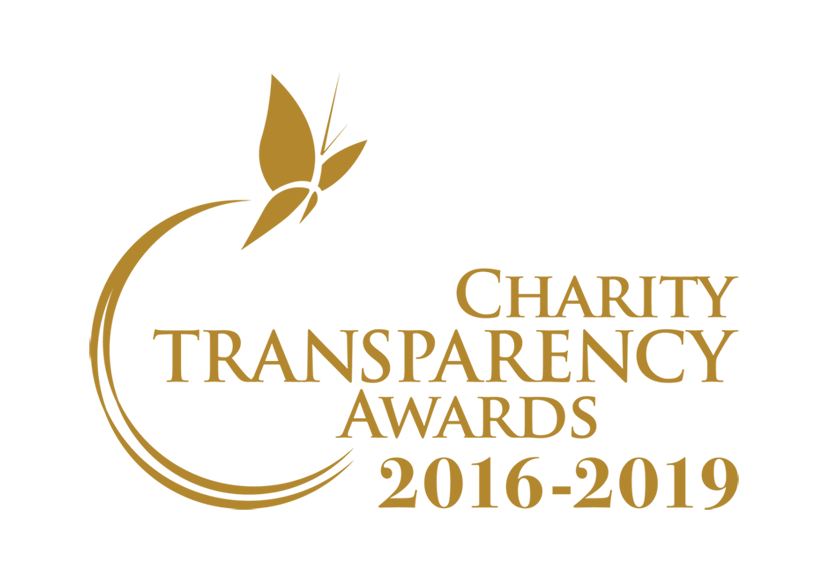 Awarded the Charity Transparency Awards 2016-2019