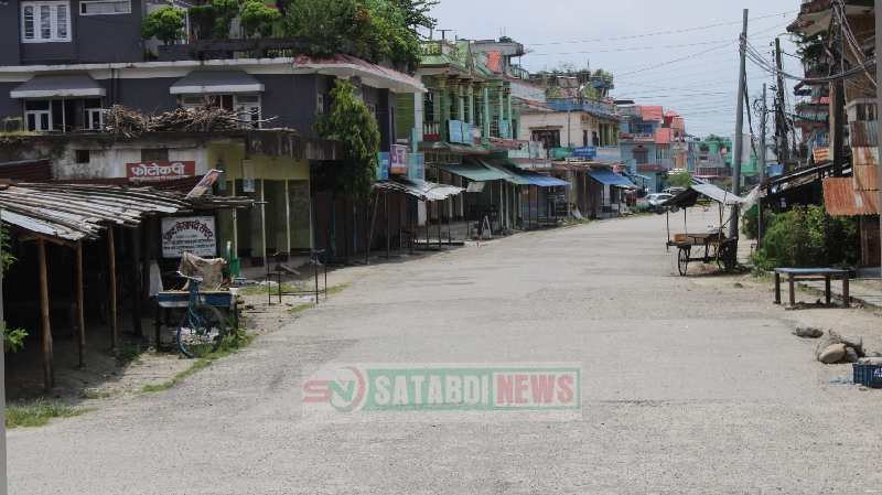 लकडाउनमा बेलबारीको दृश्य ( फोटो फिचर )