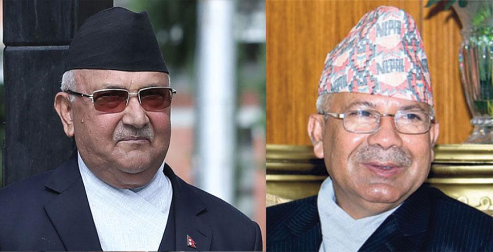 माधव नेपाल जस्ताका लागि पार्टीमा ठाउँ छैन : ओली
