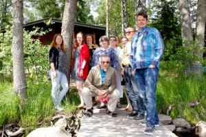 SataKylien hallituksen kokous kesäkuussa 2018. Kuvassa vasemmalta Hanna Ruohola, Mimmi Virtanen, Päivi Metsätähti, Heikki Nikula, Kaarina Talola, Kirsti Mäkitalo, Riitta Tuomela, Paavo Törmälä ja Reijo Siltala.