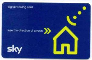 Sky Viewing Cards History Sky Card 2003
