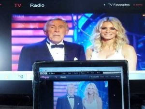 Connect a laptop to TV iplayer