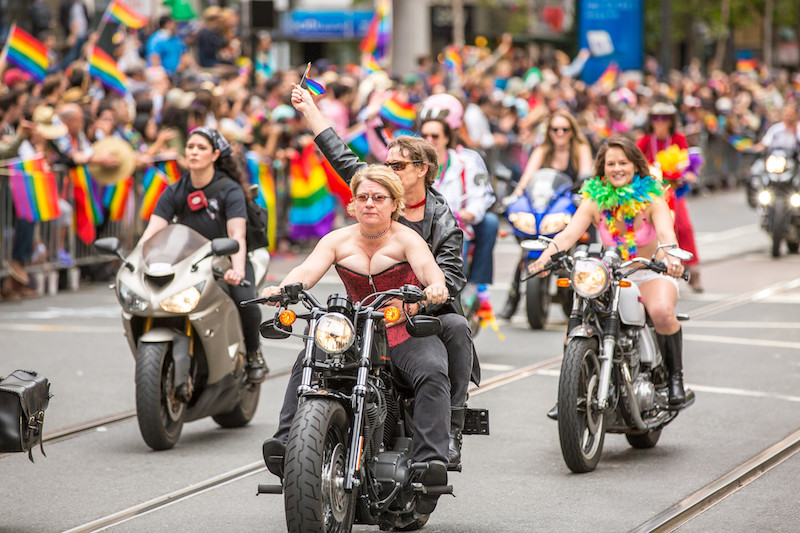 San Francisco Pride cops