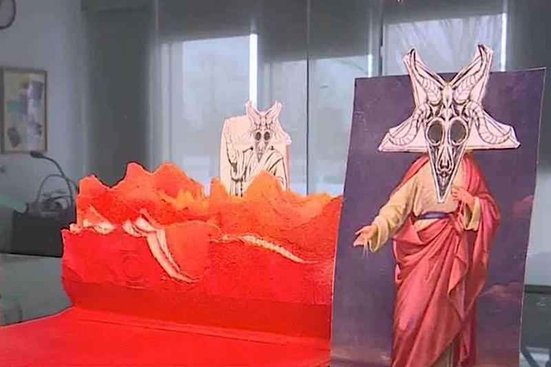 unholy bible maine satanism