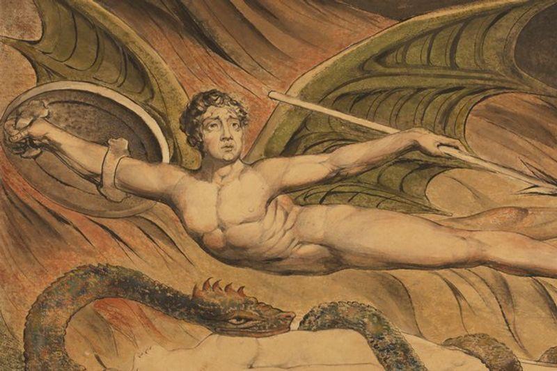 William Blake Romantic Satanism
