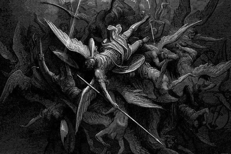 Satan Fallen Angel