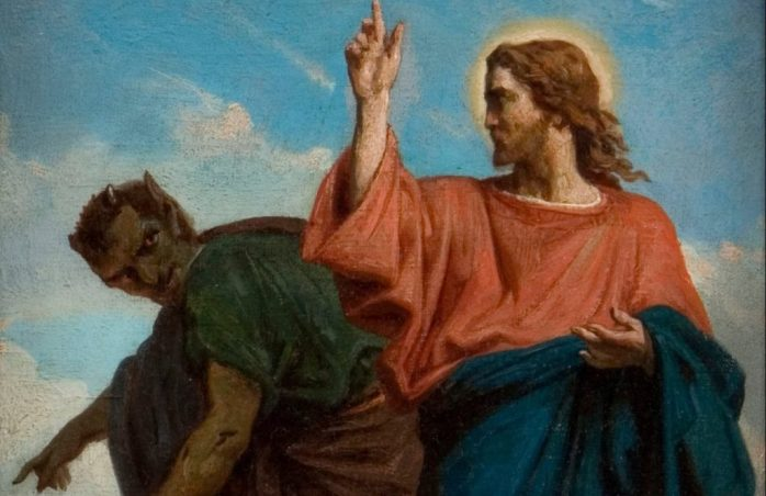 Temptation of christ satan san francisco