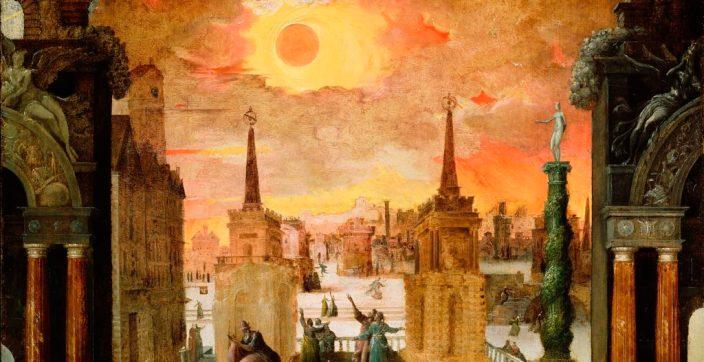 total solar eclipse satan