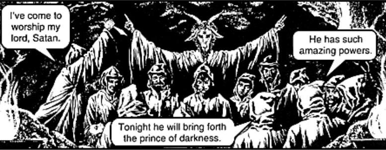 Satanic Chick Tract
