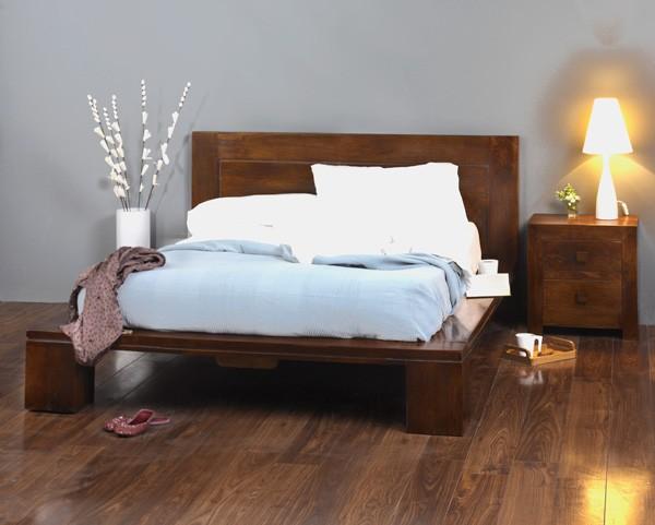 Solid Mango Wood King Size Bed Frame Casa Bella Indian